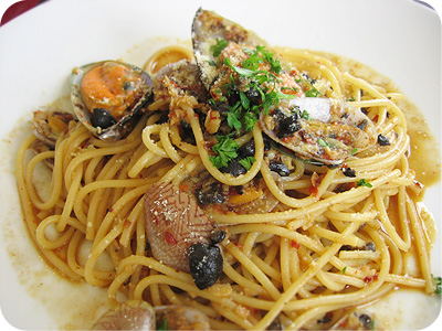 Spaghetti vongole #1