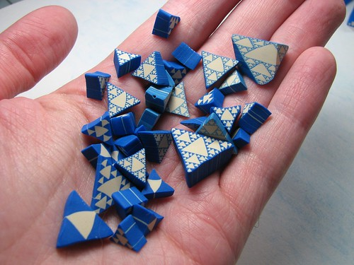 Its a fractal made from clay!