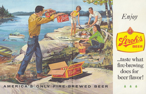 Fishing Collectible Stroh Brewery Fishing Tips How To Guide by Bud Snyder Inside Ad by UpNorth Memories - Donald (Don) Harrison.