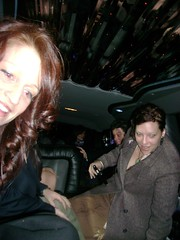 Getting into the Limo