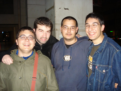Kopi, Marcos, yo, Luisfer