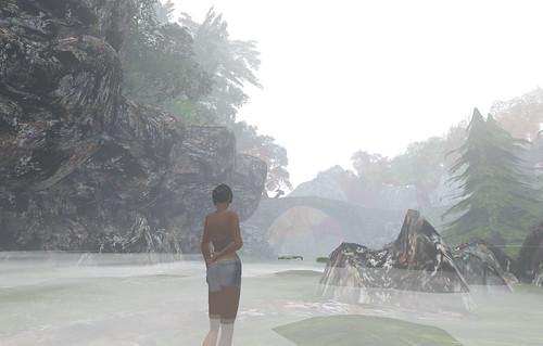 Straylight foggy glen