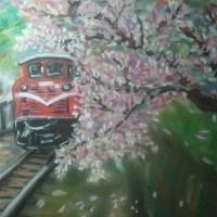 Pastel_阿里山櫻花(sakura)