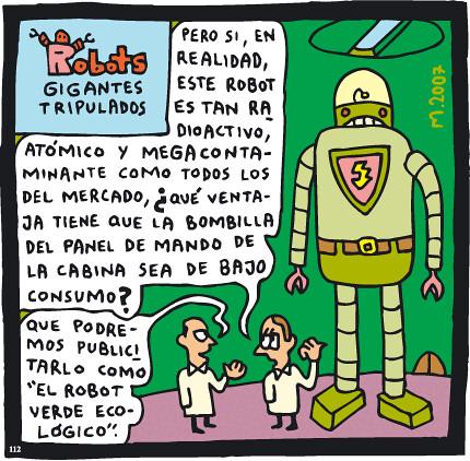Robot ecológico