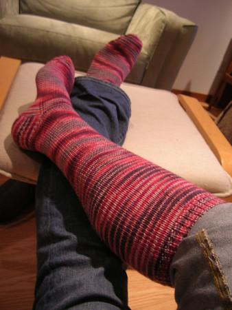 Garnet Dreams Knee Socks