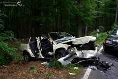 Schwerer Verkehrsunfall Hohe Wurzel 15.05.08