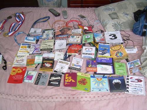 la colección sobre mi cama