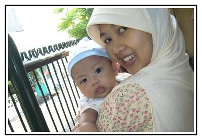Bintang n' Mommy (3 bulan)