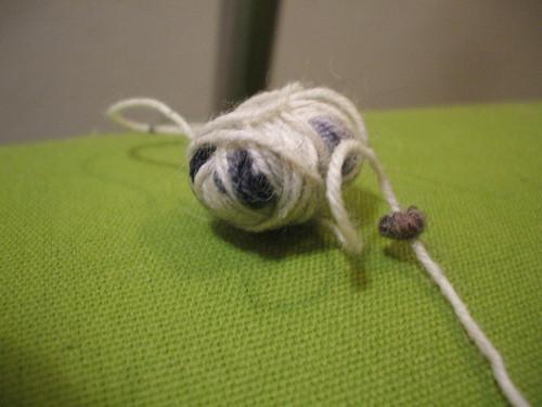 Eek, not enough yarn
