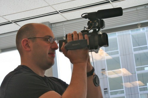 Geoff Shooting Film