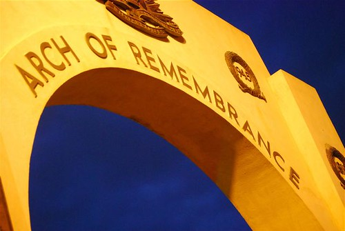 Arch of Remembrance (Anzac Day Memorial 2008)