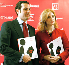 Gonzalo Brujó (Interbrand) y Helena López-Casares (LID)