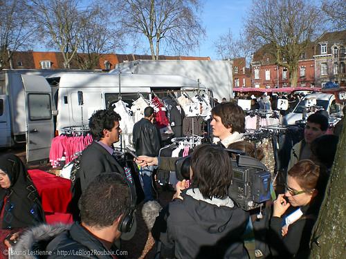 UnisCité au marché de l'Hommelet