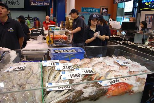 Fish Stall - Sydney Fish Market