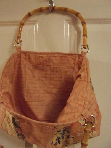 Bag Swap Bag - Inside lining and pocket