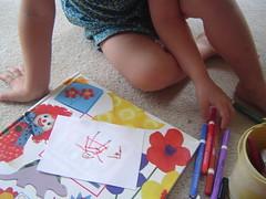 L. making K. a birthday gift
