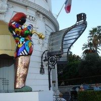 Niki de Saint Phalle at the Negresco