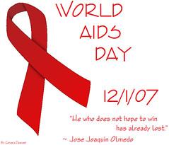 World AIDS Day - 12/1/07