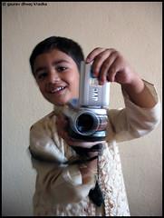 A young film maker by Gaurav Dhwaj Khadka