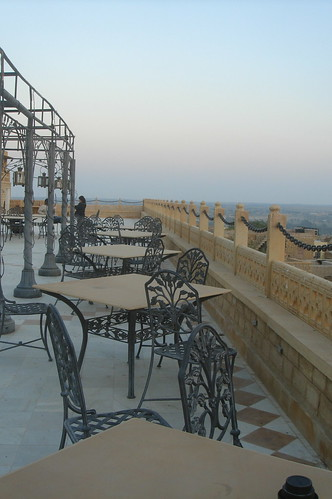 Hotel Narayan Niwas Palace1-36 夕陽