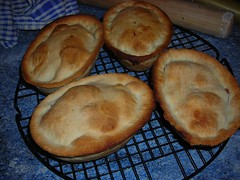 Pork and Apricot Pies