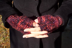 SuperQuick Fingerless Mitts