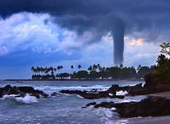 Tornado in Paradise, Senggigi Beach Lombok Ind...