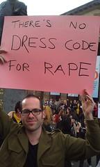 Great Protest Sign at SlutWalk Melbourne