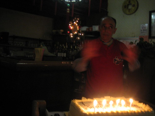 Happy Birthday to you (dad conducts)