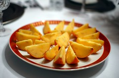 Pichet Ong's Frozen Orange Wedges