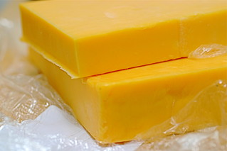 one pound of cheddar