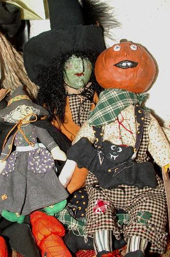 Halloween dolls