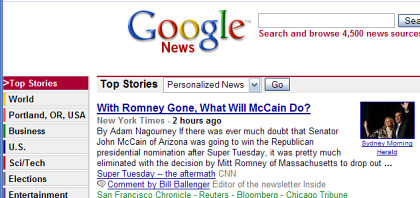 Google News Local