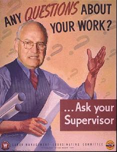 President Cheney-- of the Senate