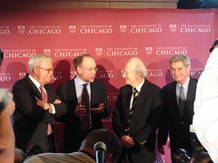 Prof. Roger Myerson at University of Chicago P...
