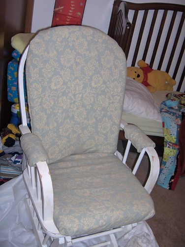Recovered rocking chair