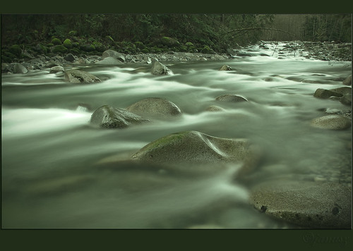 Silver Stream by janusz l