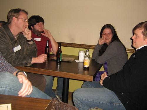 Bob, Colin, Karen and Charlie