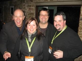 New Media Jim, Chris Heuer, Kristie Wells and me