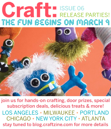 Craft Party Tomorrow!!!