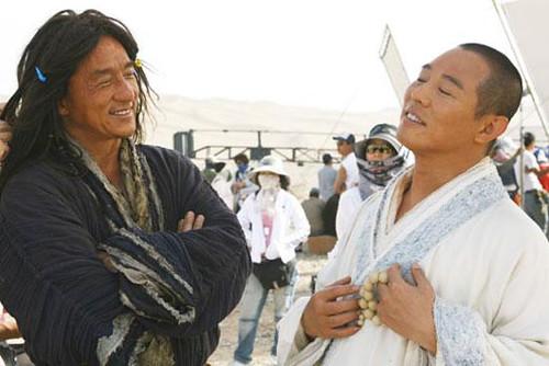 The immortal Jackie Chan and Jet Li