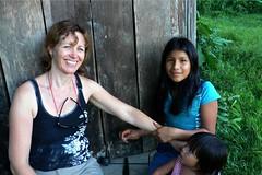 Snake tatoos with Wika fruit dye at Sarayaku