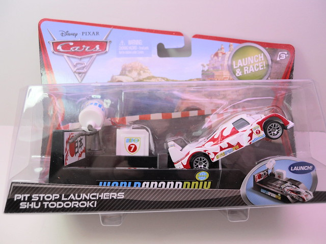 disney cars 2 pit stop launchers shu todoroki (1)