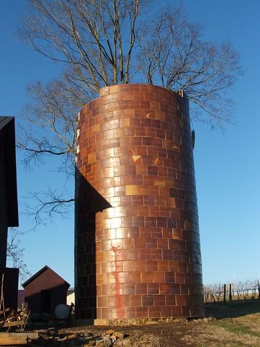 Tree in silo