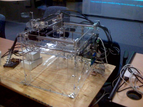 DIY 3D fabber printer @ UB