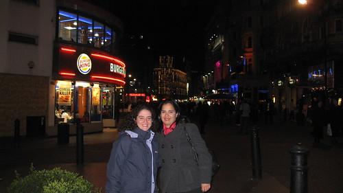 Londres, Paseo con Eva