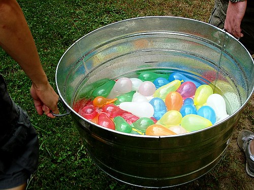 The water balloons!