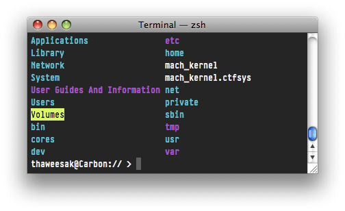 Vibrant Ink for Leopard Terminal