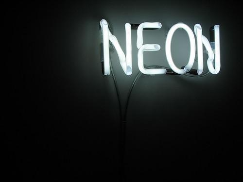 Neon light by Rd. Vortex