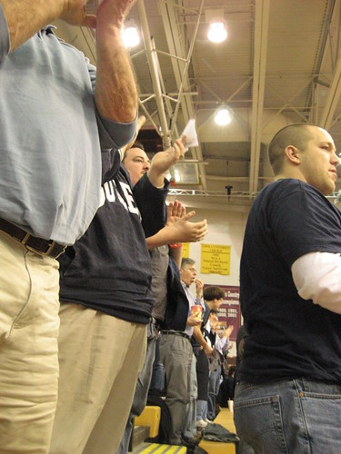Butler Bulldog basketball fans travel well